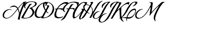 Oxida Regular Font UPPERCASE