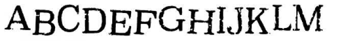 Oxeran Font UPPERCASE