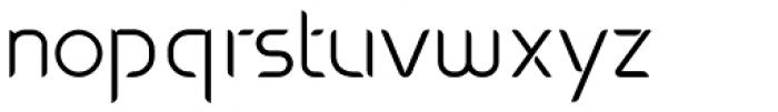 Oxo Light Font LOWERCASE