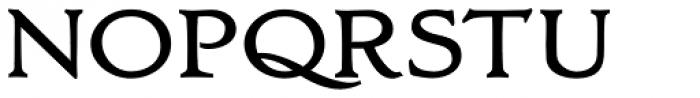 Oxonia Roman Bold Font UPPERCASE