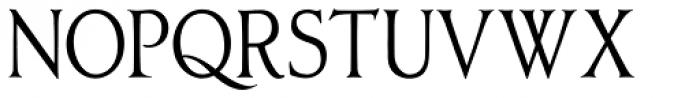 Oxonia Roman Condensed Font UPPERCASE