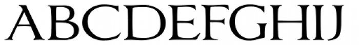 Oxonia Roman Font UPPERCASE