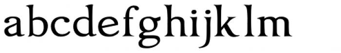 Oxonia Roman Font LOWERCASE