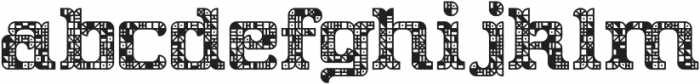 Oyster CPC Exterior otf (400) Font LOWERCASE