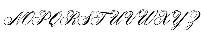 OYALE-ScripBold Font UPPERCASE