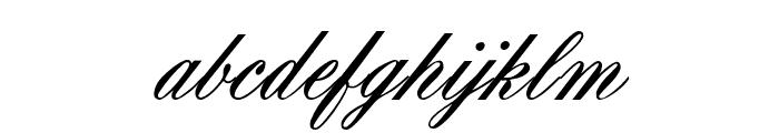 OYALE-ScripBold Font LOWERCASE