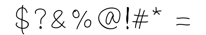 oysternubsscript Font OTHER CHARS