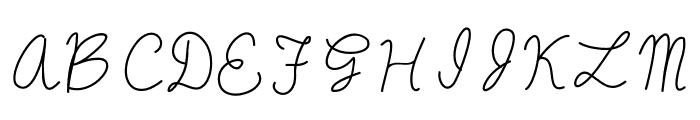 oysternubsscript Font UPPERCASE