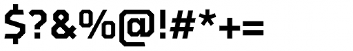 Oyko Bold Font OTHER CHARS