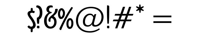OzHandicraft BT Roman Font OTHER CHARS
