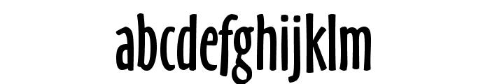 OzHandicraft BT Roman Font LOWERCASE