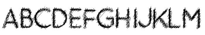 Ozarks Bold Font UPPERCASE