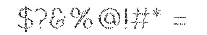 Ozarks Normal Font OTHER CHARS