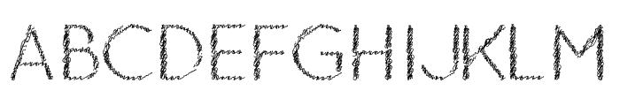 Ozarks Normal Font UPPERCASE
