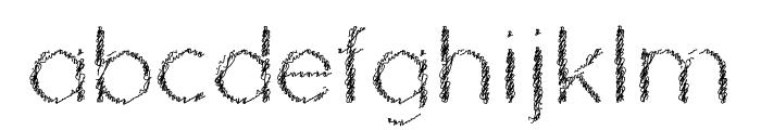 Ozarks Normal Font LOWERCASE