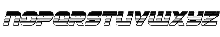 Ozda Chrome Italic Font LOWERCASE