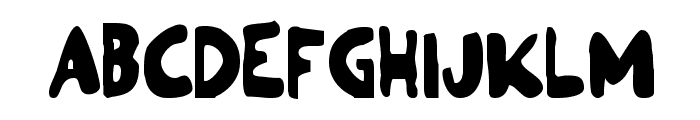 Ozymandias Bold Font UPPERCASE