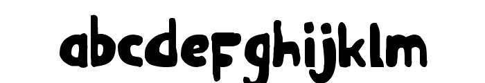 Ozymandias Bold Font LOWERCASE