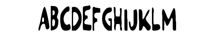 Ozymandias Condensed Font UPPERCASE