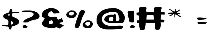Ozymandias Expanded Font OTHER CHARS