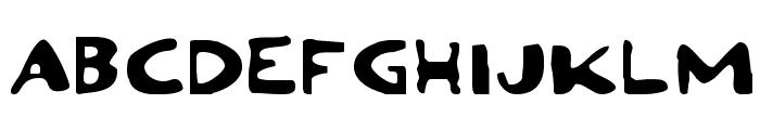 Ozymandias Expanded Font UPPERCASE