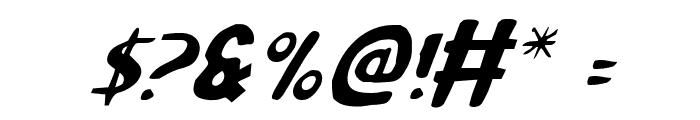 Ozymandias Italic Font OTHER CHARS