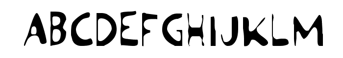Ozymandias Light Font UPPERCASE