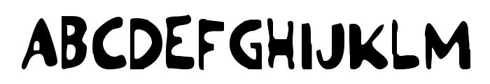 Ozymandias Font UPPERCASE