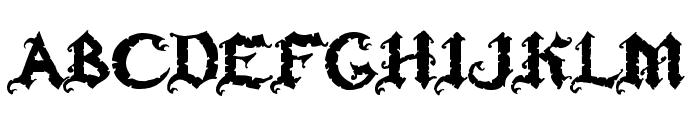Ozzy II Font UPPERCASE