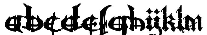 Ozzy II Font LOWERCASE