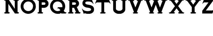 Ozymandias NF Solid Font UPPERCASE