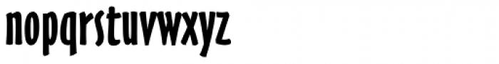 Oz Handicraft BT Bold Font LOWERCASE