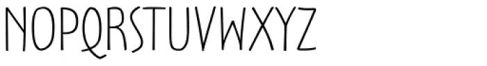 Oz Handicraft BT Wide Light Font UPPERCASE