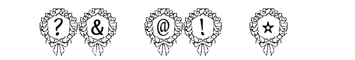 P-xmas Font Font OTHER CHARS