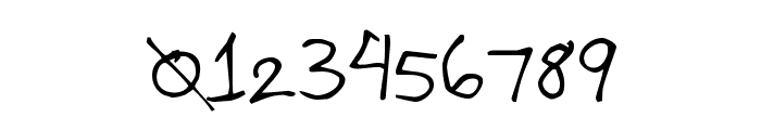 P.O.S 3000 Font OTHER CHARS