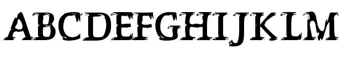 P?s?ttning Font UPPERCASE