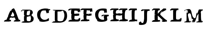 P?s?ttning Font LOWERCASE