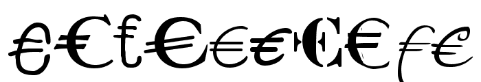 P22 Euros Font OTHER CHARS