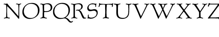 P22 Albion Regular Font UPPERCASE