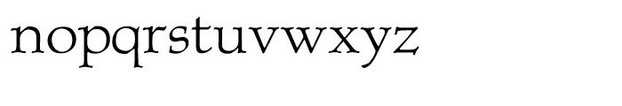 P22 Albion Regular Font LOWERCASE