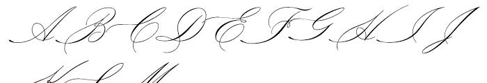 P22 Allyson Regular Font UPPERCASE
