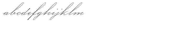 P22 Allyson Regular Font LOWERCASE
