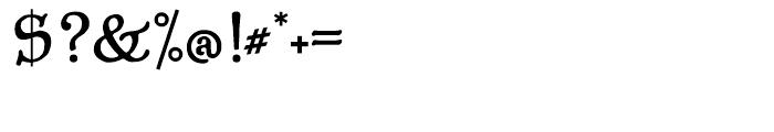 P22 Aragon Regular Font OTHER CHARS