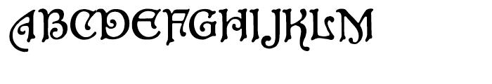 P22 Aragon Regular Font UPPERCASE