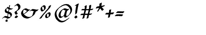 P22 Bastyan Regular Font OTHER CHARS