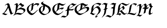 P22 Bastyan Regular Font UPPERCASE