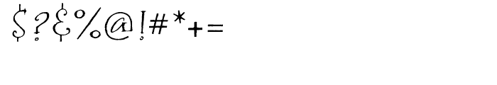 P22 Bramble Regular Font OTHER CHARS