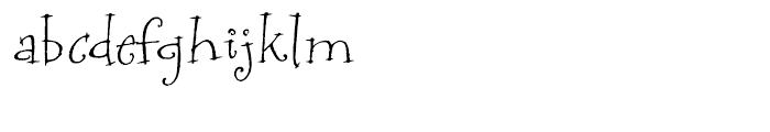 P22 Bramble Regular Font LOWERCASE