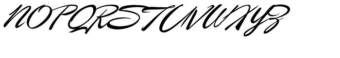 P22 Casual Script Alternate Font UPPERCASE