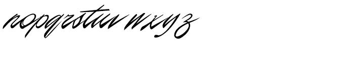 P22 Casual Script Alternate Font LOWERCASE